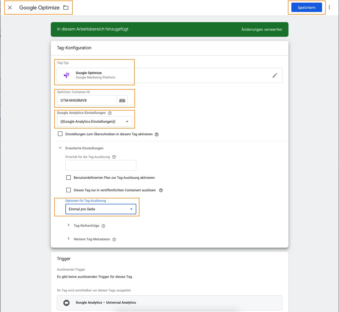 Google Optimize mit TagManager verbinden, leadgenerierung, leadgeneration, funnel, kundengewinnung, software, conversion rate, leads, marketing, fragebogen, kpi