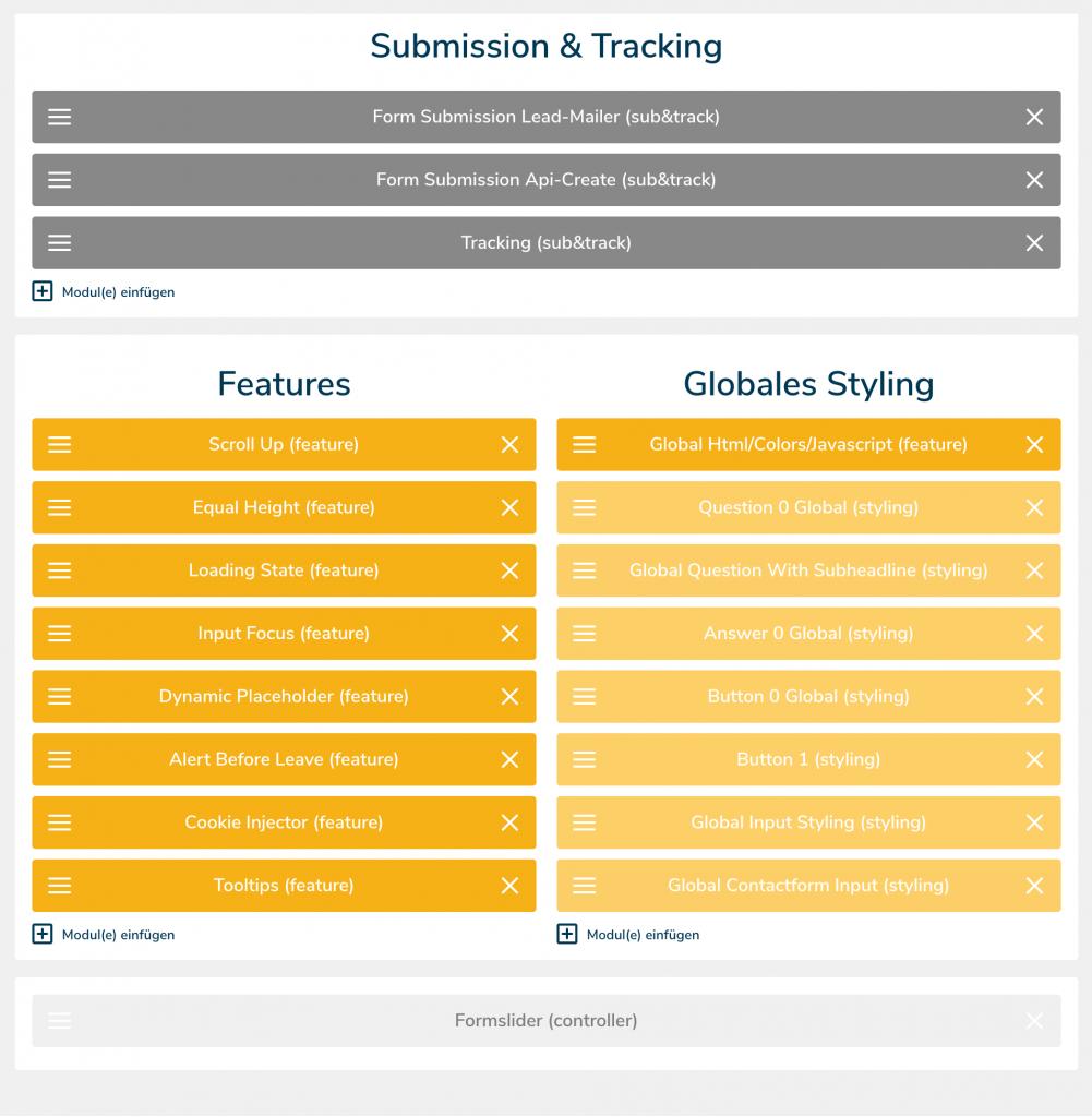 Slider Submission, leadgenerierung, leadgeneration, funnel, kundengewinnung, software, conversion rate, leads, marketing, fragebogen, kpi